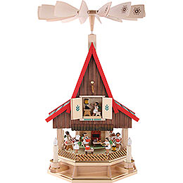 2 - Tier Adventhouse Angel's Bakery Electrically Driven by Richard Glässer -  53cm / 21 inch