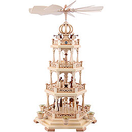 4 - Tier Pyramid  -  The Christmas Story  -  55cm / 22 inch