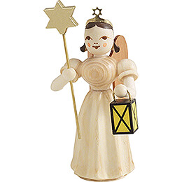 Angel Long Pleaded Skirt with Lantern and Star  -  Natural  -  6,6cm / 2.6 inch