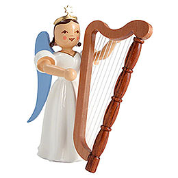 Angel Long Pleated Skirt Harp, Colored  -  6,6cm / 2.6 inch