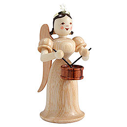 Angel Long Skirt with Drum, Natural  -  6,6cm / 2.6 inch