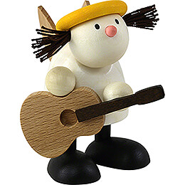 Angel Lotte with Guitar  -  7cm / 2.8 inch