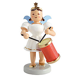 Angel Short Skirt Colored, Long Drums  -  6,6cm / 2.6 inch
