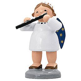 Angel with Transverse Flute  -  5cm / 2 inch