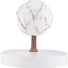 Apple Tree Platform  -  without Figurines  -  Winter  -  13cm / 5.1 inch
