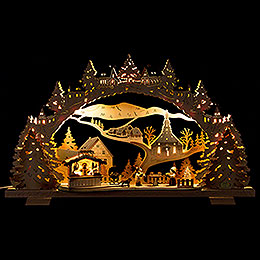 Candle Arch  -  Barbecue Lodge  -  53x31cm / 20.9x12.2 inch