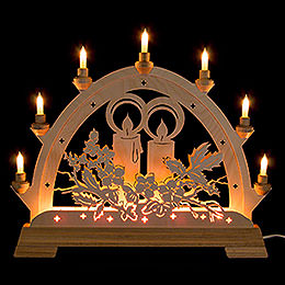 Candle Arch  -  Candle  -  48cm / 18.9 inch