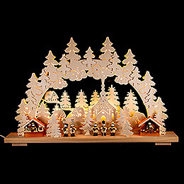 Candle Arch  -  Christmas Market  -  70x42cm / 28x17 inch