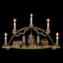 Candle Arch  -  Church of Our Lady in Dresden  -  47cm / 19 inch