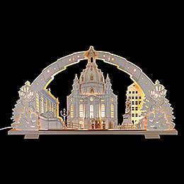 Candle Arch  -  Dresden Church of Our Lady  -  72x41x7cm / 28x16x2.8 inch