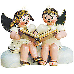 Christmas Stories Pair of Angels  -  6,5cm / 2,5 inch