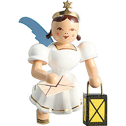 Floating Angel Colored, Guardian Angel  -  6,6cm / 2.6 inch