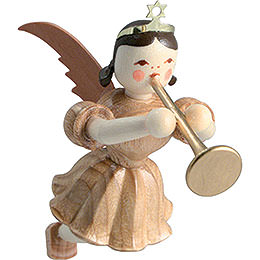 Floating Angel Trombone, Natural  -  6,6cm / 2.6 inch