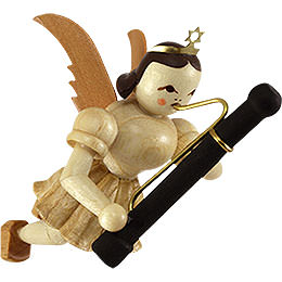 Floating Angel with Bassoon  -  9cm / 3.5 inch