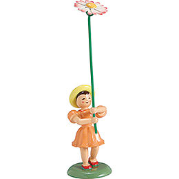 Flower Child Daisy, Colored  -  12cm / 4.7 inch