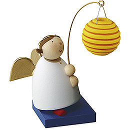 Guardian Angel with Ball Lantern  -  3,5cm / 1.3 inch
