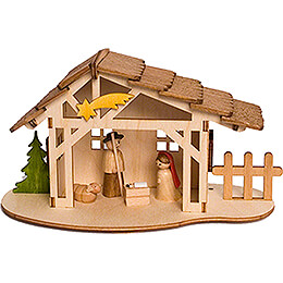Handicraft Set  -  Nativity Stable  -  10cm / 3.9 inch