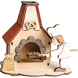 Handicraft Set  -  Smoking Oven  -  12cm / 4.7 inch