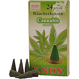 Knox Incense Cones  -  Cannabis