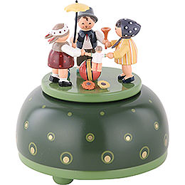 Music Box Childrens Play  -  12cm / 5 inch