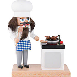 Nutcracker  -  Cook with Smoking Stove  -  22cm / 8.7 inch