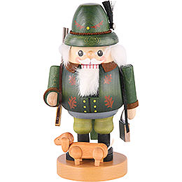 Nutcracker  -  Forest Ranger with Dachsdog  -  21cm / 8 inch