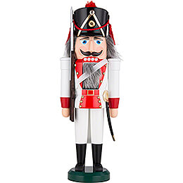 Nutcracker  -  Rifle Man, Red  -  39cm / 15.4 inch