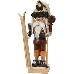 Nutcracker  -  Skier  -  Natural Colors  -  25,5cm / 10 inch