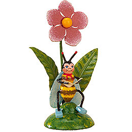 Set of Three -  Bees Morning Mail  -  6cm / 2,5 inch