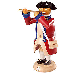 Smoker  -  Flute Player  -  Virginia State Garrison Regiment  -  24cm / 9 inch