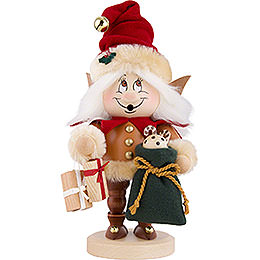 Smoker  -  Gnome Christmas Elf  -  31,5cm / 12.4 inch