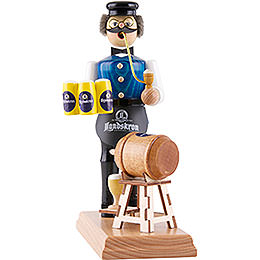Smoker  -  Innkeeper with Keg Tapping  -  18cm / 7.1 inch