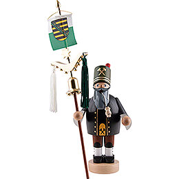 Smoker  -  Miner with Bell Tree  -  31cm / 12.2 inch