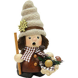 Smoker  -  Mushroom Collector Natural  -  12cm / 4.7 inch