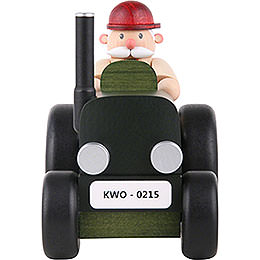 Smoker  -  Tractor Driver -  15cm / 5.9 inch