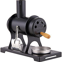 Smoking Stove  -  The Workshop Stove Black  -  11cm / 4.3 inch