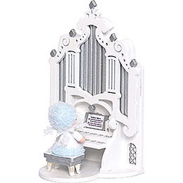 Snowflake with Organ  -  12cm / 4.7 inch