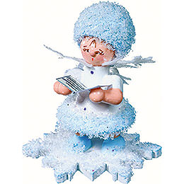 Snowflake with Songbook  -  5cm / 2 inch