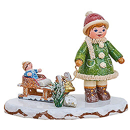 Winter Children Let it Snow, Let it Snow  -  6,5cm / 2.6 inch
